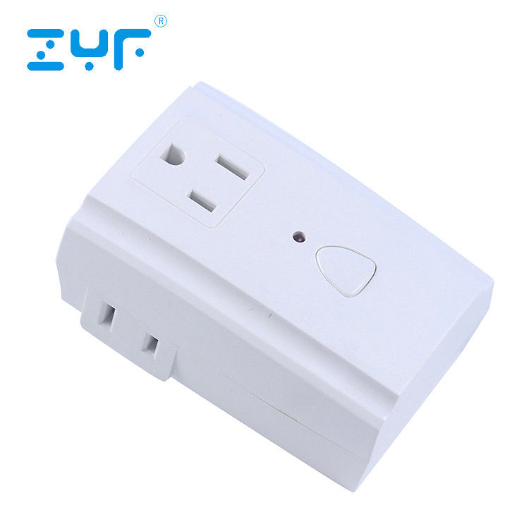 Household Wireless Remote Control Outlet 3PK 3-Outlet  5A Current Energy Saving