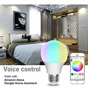 Engery Saving Wifi LED Bulb Free APP Remote Control , Wifi Build In Home Night Lamp